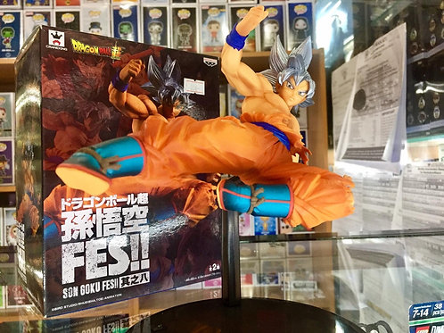 Banpresto DBZ Son Goku FES Ultra Instinct