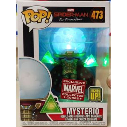 Funko POP! Spider-Man Far From Home - Mysterio Light Up MCC (483)
