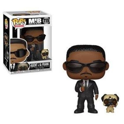 Funko POP! Men In Black - Agent J and Frank (715)