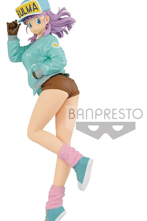 Banpresto DBZ Glitter and Glamour Bulma Green Jacket