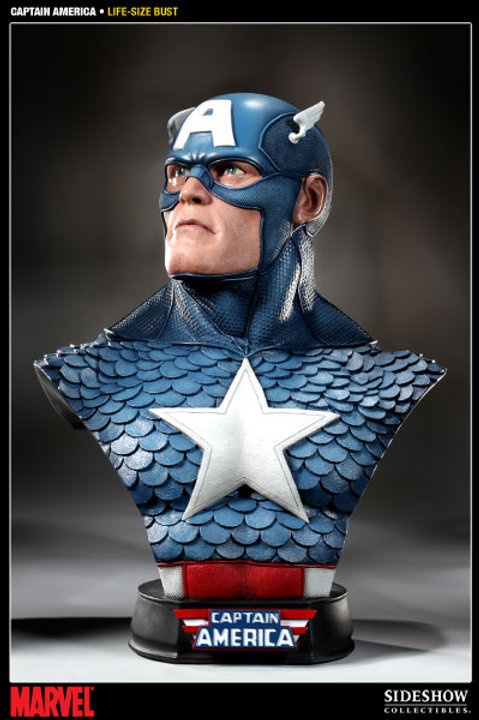 Sideshow Collectibles Captain America Life Size Bust