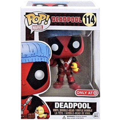Funko POP! Deadpool - Deadpool Bathtime BBTS Sticker (114)