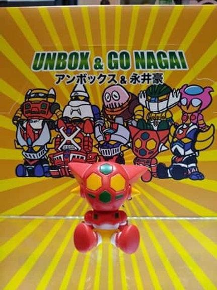Unbox x Go Nagai - Getter 1