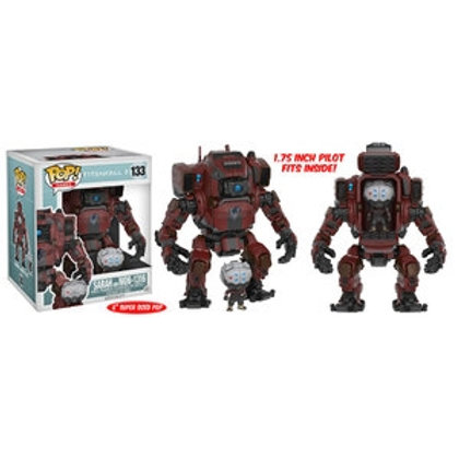 Funko POP! Titanfall 2 - Sarah and MOB-1316 6 inch (133)