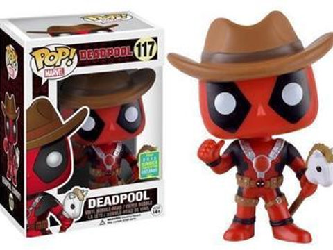 Funko POP! Marvel - Deadpool  Cowboy SCE  (117)