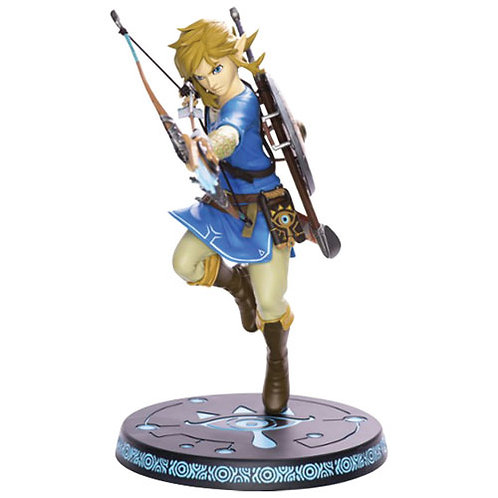 First 4 Figures Legends of Zelda: Breath of the Wild - Link statue