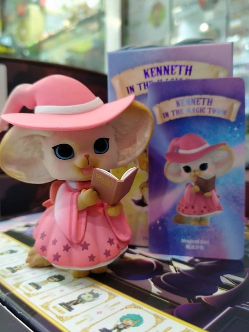 POPMART Kenneth the Fox In the Magic Town - Magical Girl