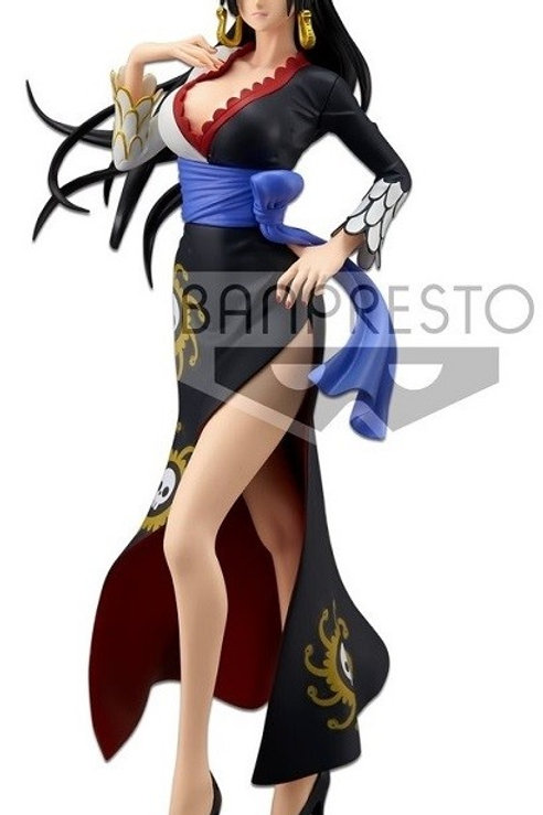 Banpresto Glitter & Glamour One Piece Stampede - Boa Hancock Black Dress