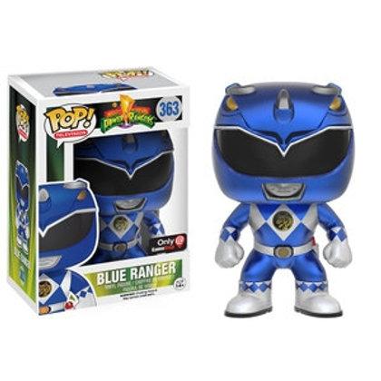 Funko POP! Power Rangers - Blue Ranger Metallic no sticker (363)