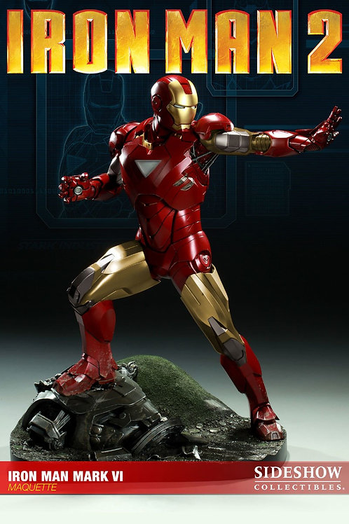 Sideshow Collectibles Iron Man 2 - Iron Man Mark VI Maquette