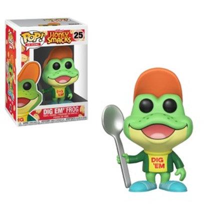 Funko POP! Ad Icon Honey Smacks  - Dig em' Frog (25)