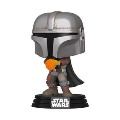 Funko POP! Star Wars - The Mandalorian Flame Throwing SE Sticker (355)