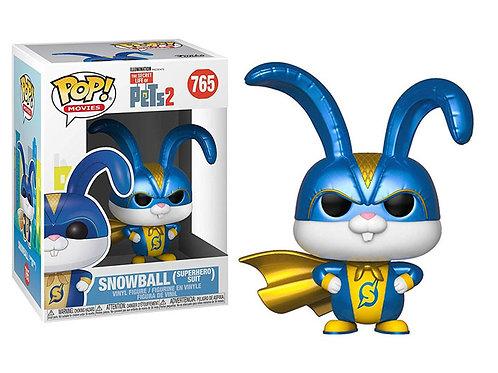 Funko POP! Pets 2 - Snowball Superhero Suit (765)