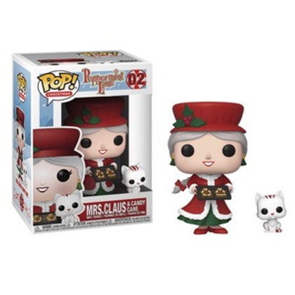 Funko POP! Peppermint Lane - Mrs. Claus And Candy Cane (02)