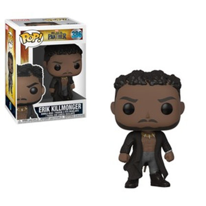 Funko POP! Black Panther - Erik Killmonger Scars (386)
