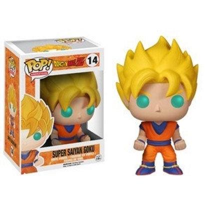 Funko POP! DBZ - Super Saiyan Goku  (14)