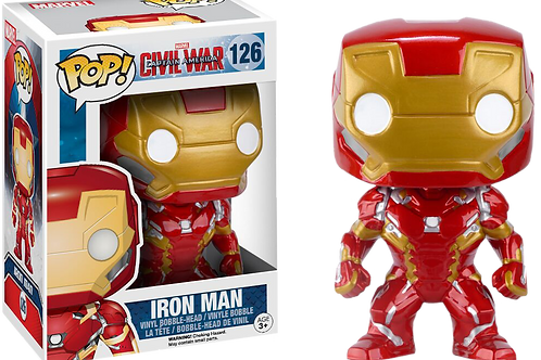 Funko POP! Captain America: Civil War - Iron Man (126)
