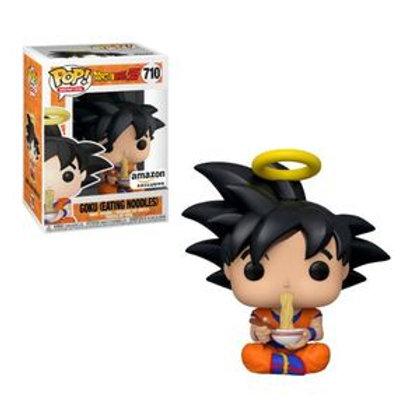 Funko POP! DBZ - Goku Eating Noodles Amazon Sticker (710)