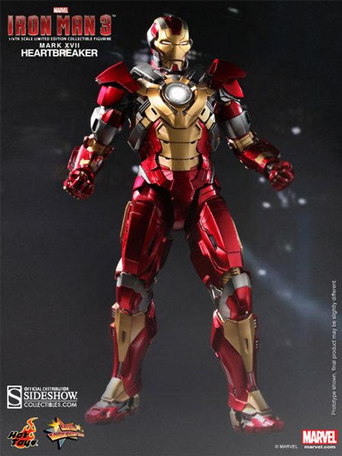 Hot Toys MMS 212 Iron Man Heartbreaker