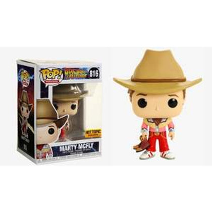 Funko POP! Back To The Future - Marty Mcfly Cowboy SE Exclusive (816)