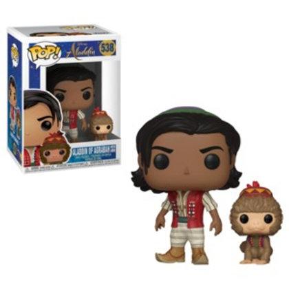 Funko POP! Aladdin -  Aladdin of Agrabag with Abu  (538)