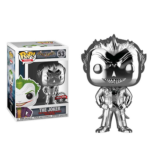 Funko POP! Arkham Asylum - Joker Chrome SE Exclusive (53)