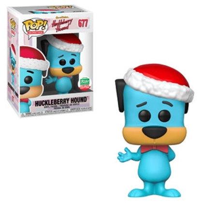 Funko POP! Huckleberry Hound Santa Hat (677)
