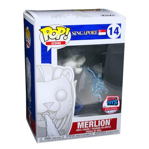 Funko POP! Singapore - Merlion Simply Toys Sticker (14)