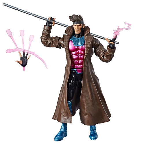Marvel Legends Caliban Wave Gambit action figure