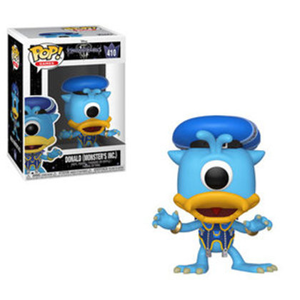 Funko POP! Kingdom Hearts - Donald Monsters Inc (410)