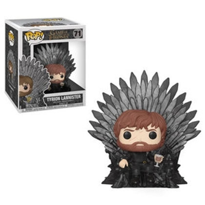 Funko POP! Game of Thrones  - Tyrion Lannister in Iron Throne (71)