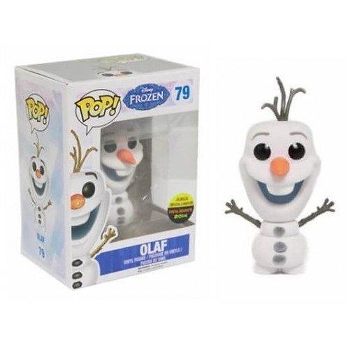 Funko POP! Frozen - Flocked Olaf Asia Exclusive (79)