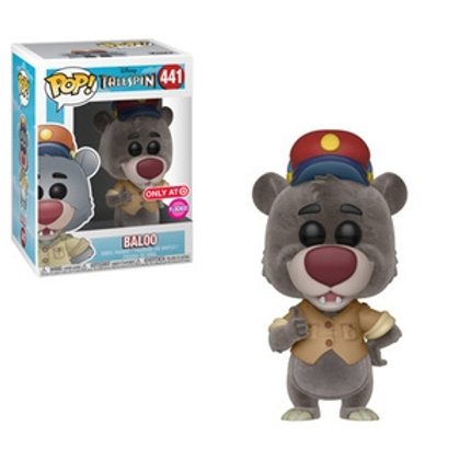 Funko POP! Talespin - Baloo Flocked Target Exclusive  (441)