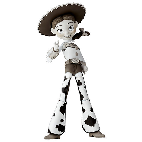 Revoltech 48 Toy Story - Jessie Black and White edition