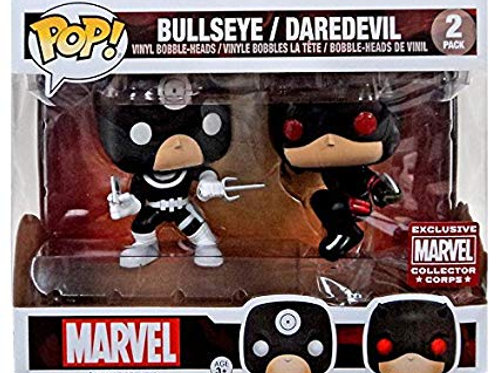 Funko POP! Bullseye/Daredevil 2pack MCC (2)