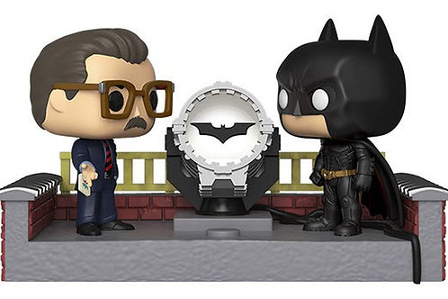 Funko POP! Movie Moments - Batman and Commissioner Gordon with Light Up  (503)