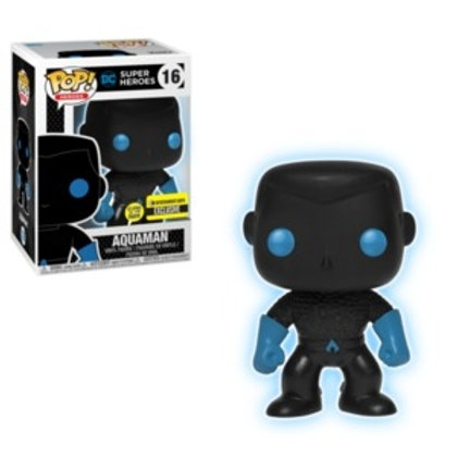 Funko POP! DC Superheroes- Aquaman Silhouette EE Ex GITD (16)