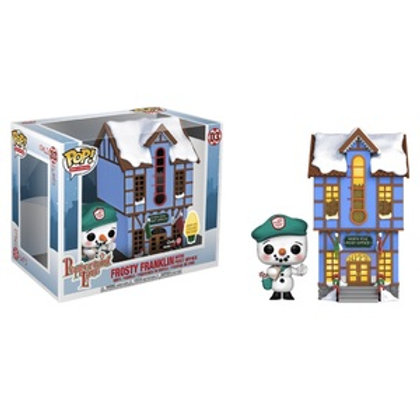 Funko POP! Frosty Franklin With Post Office SE Exclusive (03)