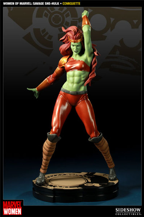 Sideshow Collectibles Marvel Savage She Hulk Comiquette