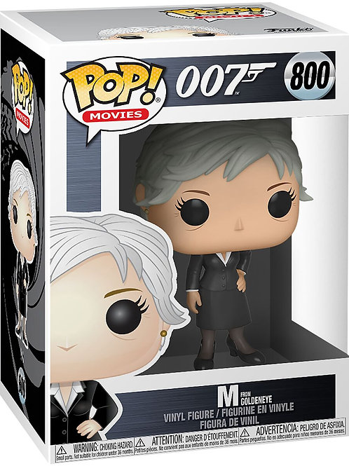 Funko POP! 007 Goldeneye - M (800)