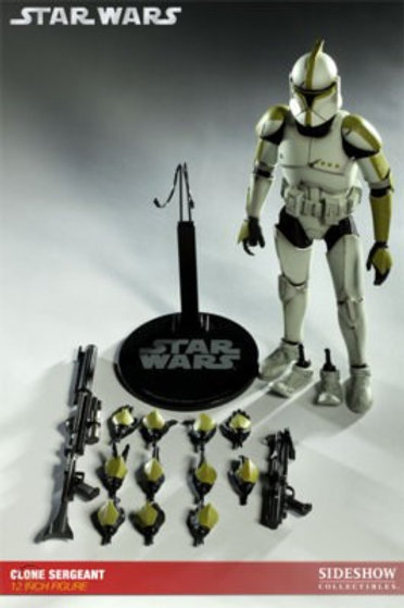 Sideshow Collectibles Star Wars Clone Sergeant
