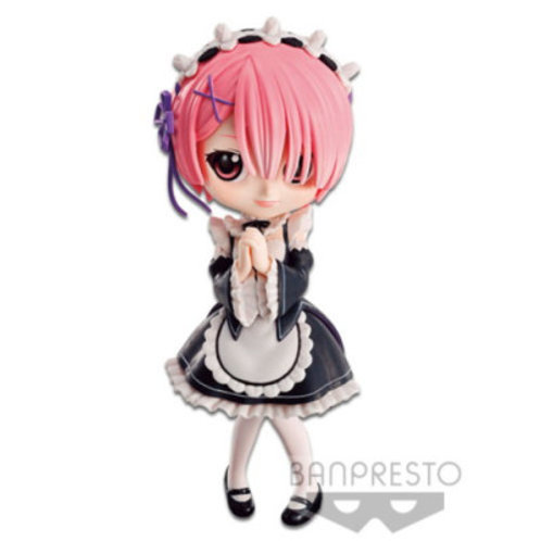 Banpresto Q Posket Re: Zero - Ram Black Dress
