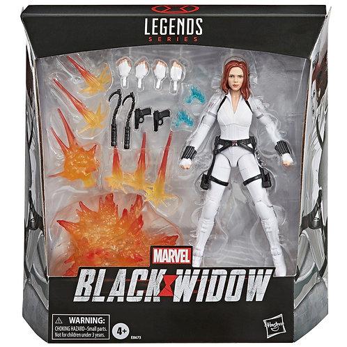 Marvel Legends Back Widow White Costume