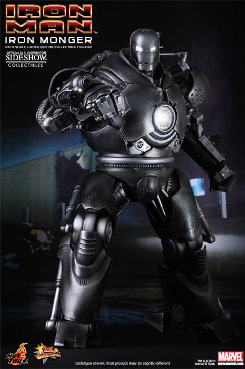 Hot toys Iron Man Iron Monger 1/6