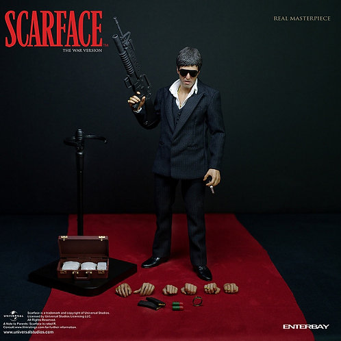 Enterbay Scarface The War Version 1/6