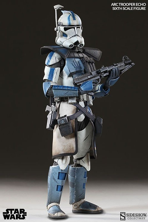 Sideshow Collectibles Star Wars Arc Clone Trooper Echo Phase 2 1/6