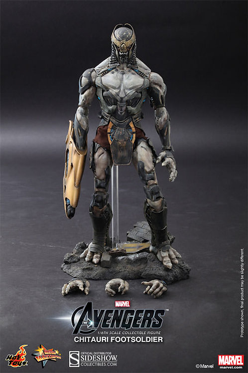 Hot Toys Avengers - Chitauri Footsoldier