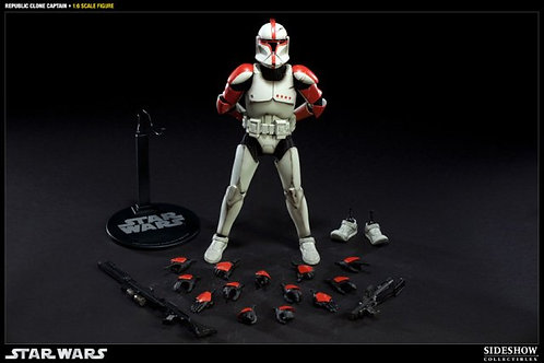 Sideshow Collectibles Star Wars Republic Clone Captain
