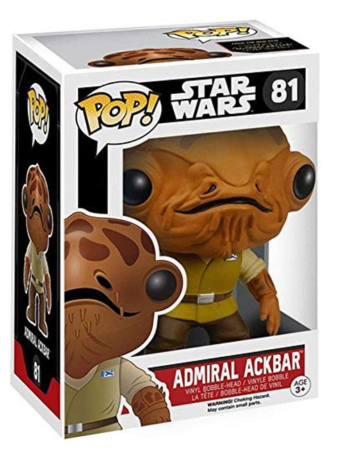 Funko POP! Star Wars Force Awakens - Admiral Ackbar (81)
