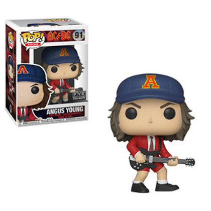 Funko POP! AC/DC - Angus Young Red Jacket SE Exclusive (91)